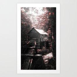 A Sunny Rainfall Art Print
