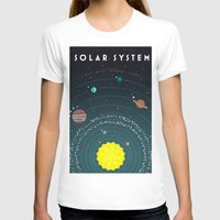 solar system T-shirts featuring Solar System by scarriebarrie