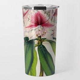 Vintage Botanical Floral Flower Plant Scientific Illustration Duodenum Prince Camille Travel Mug