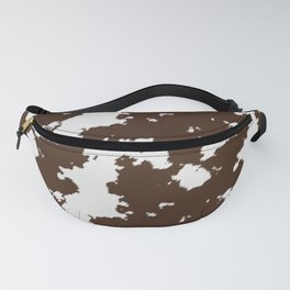 Realistic cow hide pattern Fanny Pack