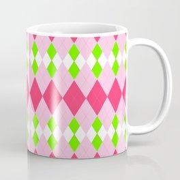 Holiday Argyle Coffee Mug