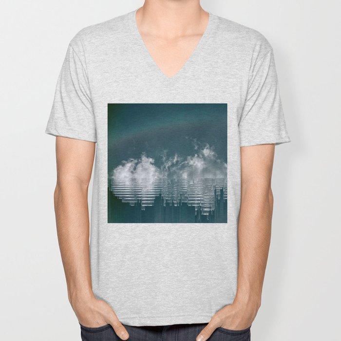 Icing Clouds Unisex V-Neck