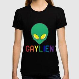 Gaylien Alien | LGBT Homosexuality Gay Pride Gift T-shirt