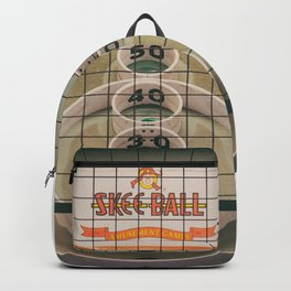 Skee Ball Game Backpack