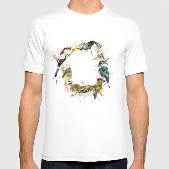 Endangered Wreath T-shirt