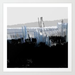 Tokyo in the Ice Age no. 16 Art Print