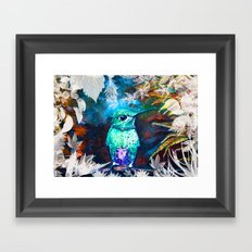 Posh Bird Framed Art Print