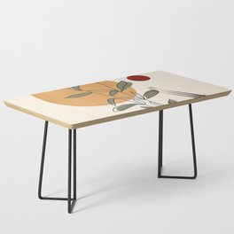 Minimal Line Young Leaves Coffee Table