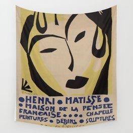 Maison de la Pensée Française by Henri Matisse Wall Tapestry