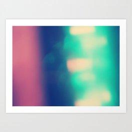 Blur//Two Art Print