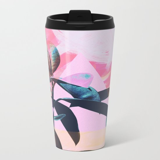 Painted Botanics Metal Travel Mug