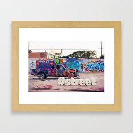 #Street Framed Art Print