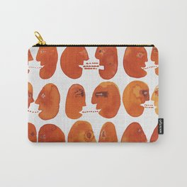 Communication / Communicable Red Heads Carry-All Pouch