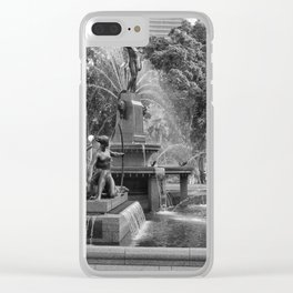 Hyde Park Sydney Clear iPhone Case