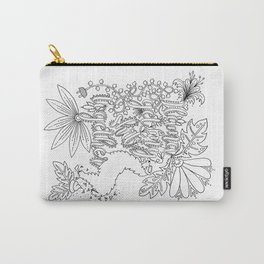 Llama Get My Shit Together Adult Coloring Design Carry-All Pouch