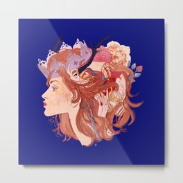 Christine and the Queens Metal Print