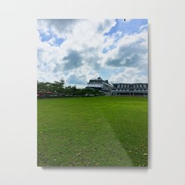 Singapore Cruise Ship Metal Print
