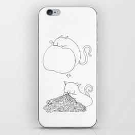 Strange Creature Eating iPhone Skin