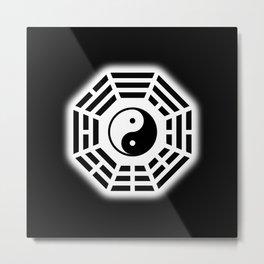 YinYang BaGua Metal Print