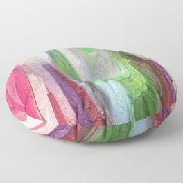 464 - Abstract Colour Design Floor Pillow
