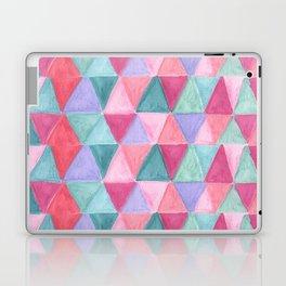 pastel triangle pattern Laptop & iPad Skin