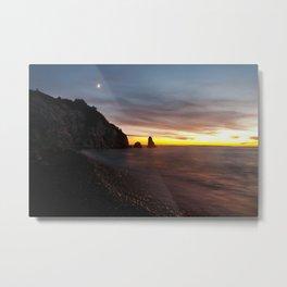 Cheticamp Sunset Metal Print