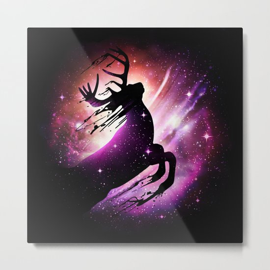 Black Hole Escape Metal Print
