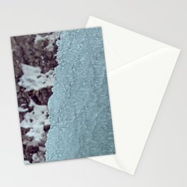Ice Waterfall Stationery Cards