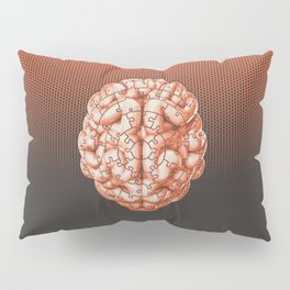 Puzzle brain GINGER / Your brain on puzzles Pillow Sham