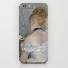 Woman at Her Toilette, 1875/80, Berthe Morisot iPhone Case