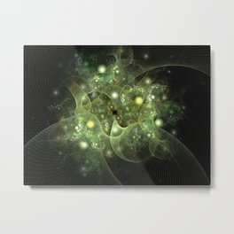 Dawning Universe Fractal Art Metal Print
