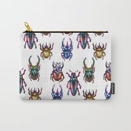 Rainbow Beetles Carry-All Pouch