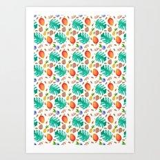 Feeling Fruity Art Print