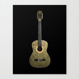 Black Gold Canvas Print