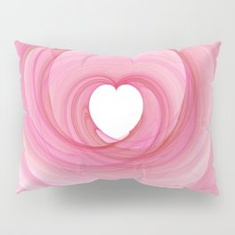 Valentine's Fractal I - Light Pillow Sham