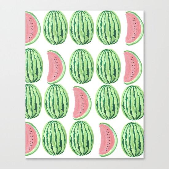 Watermelon Mania Canvas Print