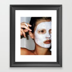 Kate Mask Framed Art Print