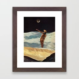 CRESCENT Framed Art Print