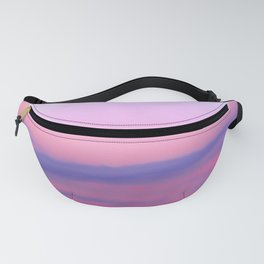 Sunset Indigo Mood Fanny Pack