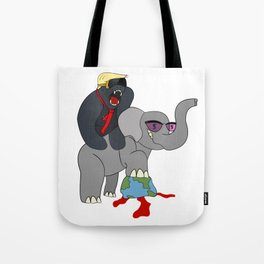 Unchecked and Unbalanced Tote Bag