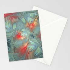 String Theory Fractal Art Stationery Cards
