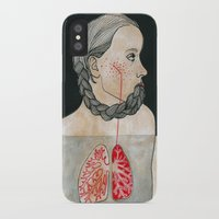backpack iPhone & iPod Cases featuring ikizler (twins) by Amylin Loglisci