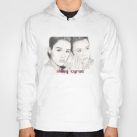 miley Hoodies featuring miley vs. miley by als3