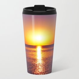 Peraia sunset Metal Travel Mug
