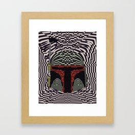 Boba Effect Framed Art Print