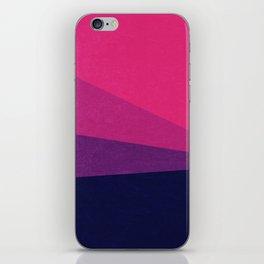 Stripe VII Ultraviolet iPhone Skin