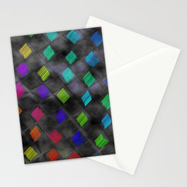 Square Color Stationery Cards