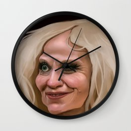 Alternative Eyelids Wall Clock