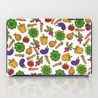 vegetables iPad Cases featuring Vegetables by Alisa Galitsyna