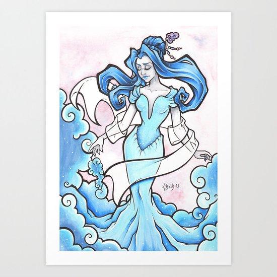 Aira of the Wind Art Print